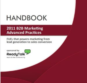 Advanced marketing handbook