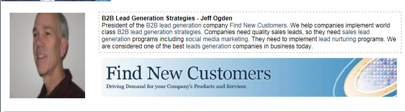 Jeff Ogden B2B Lead Generation Strategies